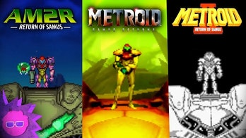 Different versions of 'Metroid II'