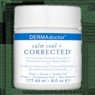 Calm Cool + Corrected 1% Colloidal Oatmeal Eczema + Dermatitis Clinical Repair Balm