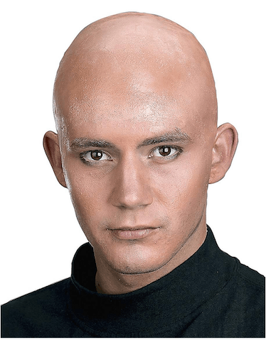 Use a bald cap to recreate the Pale people's look from 'AHS: Double Feature.'