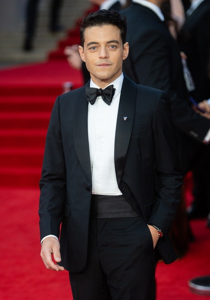 """Rami Malek attends the """"No Time To Die"""" World Premiere"""
