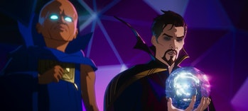 The Watcher and Doctor Strange Supreme say goodbye to each other in What If...? Episode 9