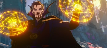 Doctor Strange Supreme putting up his (mystical) dukes in What If...? Episode 9