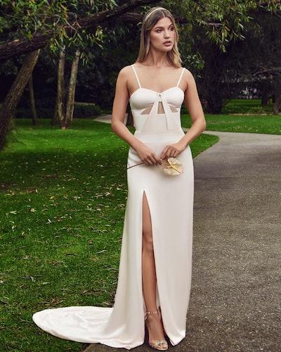 Karla gown from Nadia Manjarrez Studio Bridal.