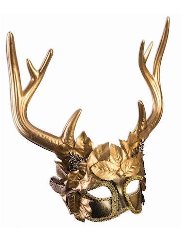 The 'Squid Game' VIPS wear. golden animal masks.