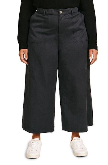 Quinn Cotton Blend Crop Wide Leg Pants 11 Honoré Nordstrom