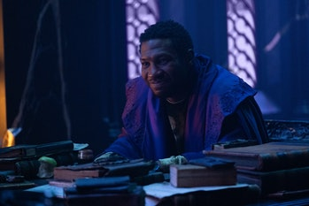 Jonathan Majors as He Who Remains, a Kang the Conqueror variant, in Loki Episode 6