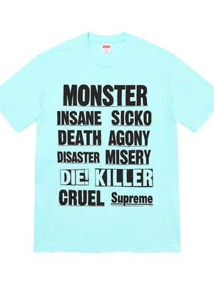 Supreme Weirdo Dave Monster T-shirt