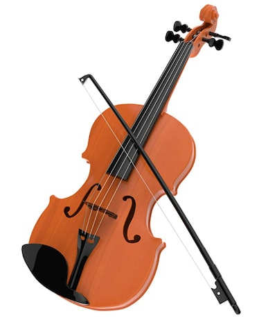 Alma is always playing her violin on 'AHS: Double Feature.'