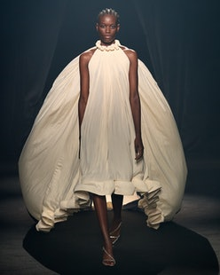Lanvin's design for AZ Factory's Love Brings Love runway show.