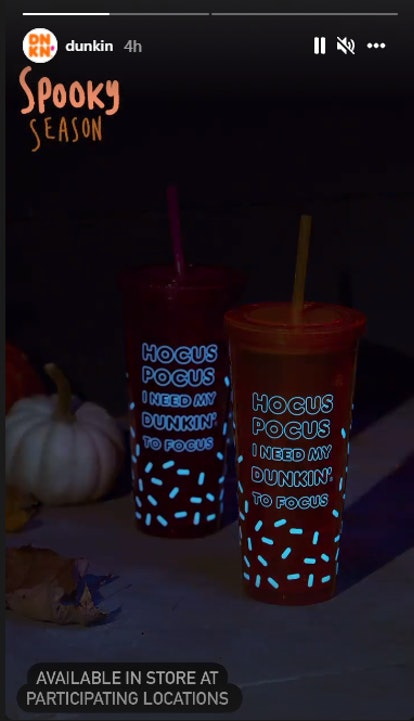 Here's what to know about Dunkin's Halloween 2021 'Hocus Pocus' tumbler before it flies off the shel...