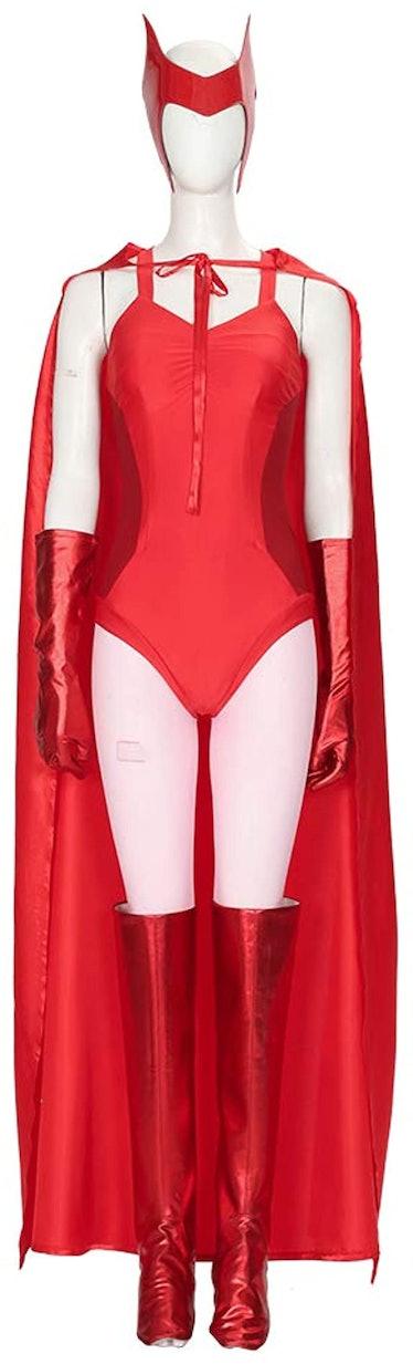 Wanda Maximoff WandaVision Halloween Costume