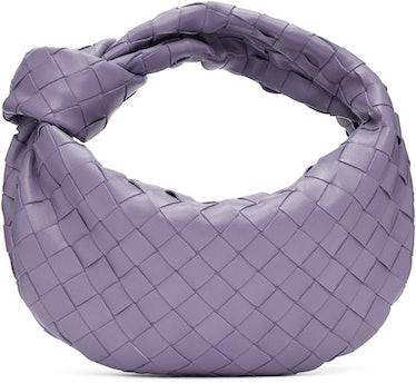 Purple Mini Intrecciato Jodie Bag