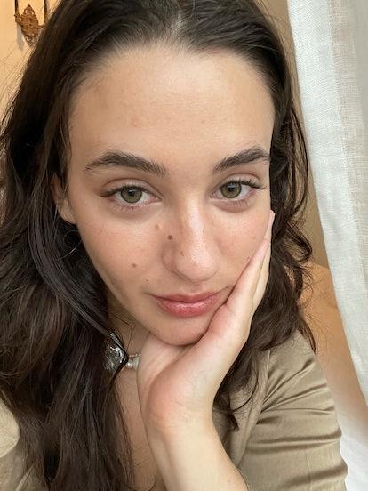 Isabella's lashes without mascara