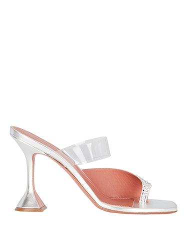 Paloma Crystal-Embellished Slide Sandals