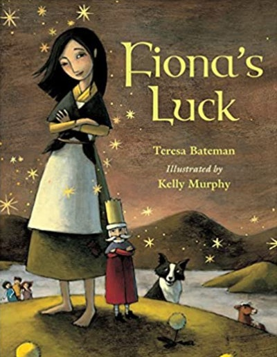'Fiona's Luck' written by Teresa Bateman and illustrated by Kelly Murphy
