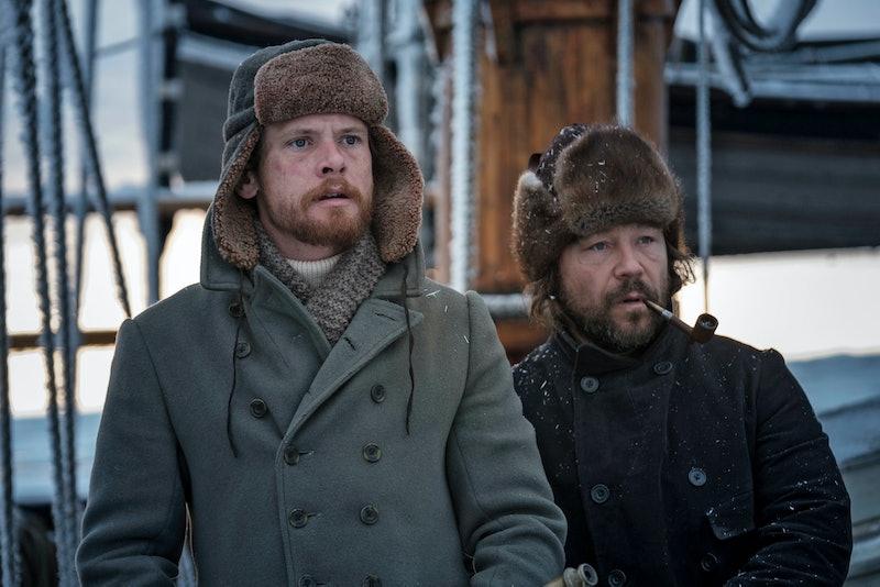 Patrick Sumner (JACK O'CONNELL), Captain Brownlee (STEPHEN GRAHAM)