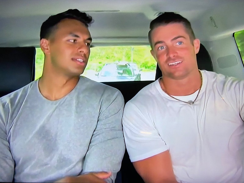 James Bonsall and Aaron Clancy leaving 'Bachelor in Paradise' together