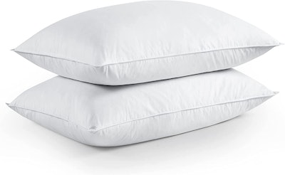puredown Feather and Down Pillow (2-Pack)