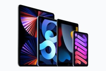 Apple iPad lineup for 2021