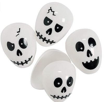 Halloween Skull Eggs