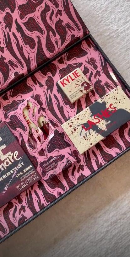 Kylie comestics x Nightmare On Elm Street Halloween collection