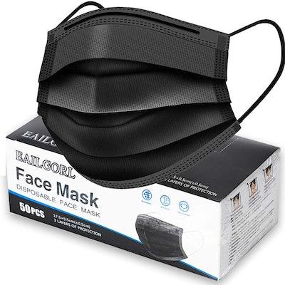 EAILGORL Disposable Face Masks (50-Pack)
