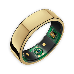 Heart Rate, Temperature, & Sleep Monitoring Ring