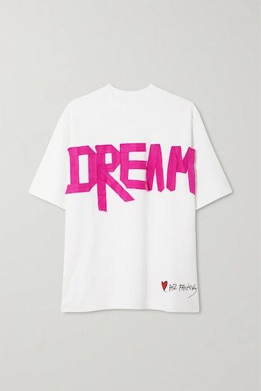 AZ Factory's Dream oversized T-shirt.