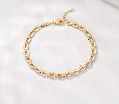 MEVECCO 18K Gold Plated Bracelet