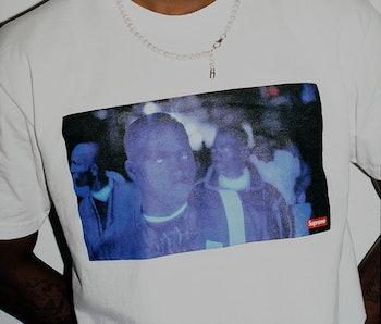 Supreme Belly T-Shirt DMX Nas