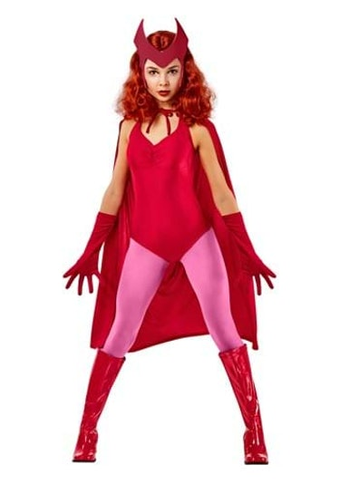 Deluxe Scarlet Witch Costume for Women