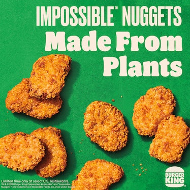 Here's where to buy Burger King's Impossible Nuggets because they're testing soon.