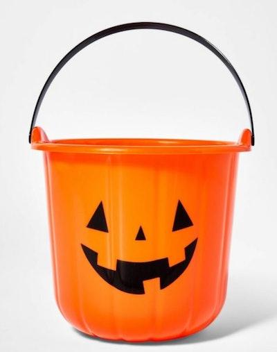 Pumpkin Stackable Halloween Trick or Treat Bucket