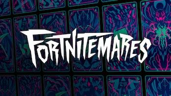 fortnitemares 2021 logo