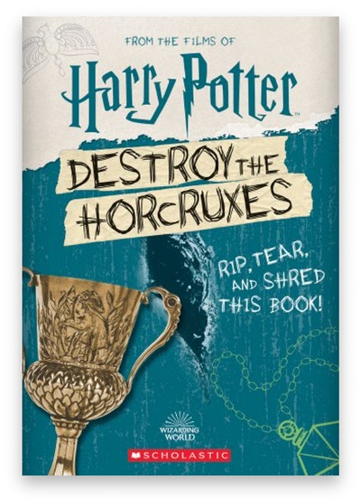 Cover art for 'Harry Potter: Destroy the Horcruxes'
