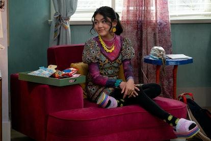 MOMONA TAMADA as CLAUDIA KISHI in Season 2 of THE BABY-SITTERS CLUB