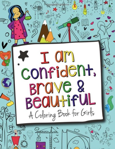 A confidence boosting coloring book