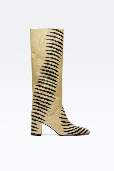 Finola Cream Boots