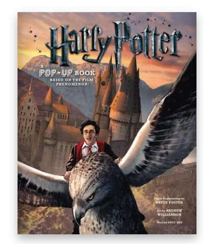 cover art for 'Harry Potter: A Pop-Up Book'