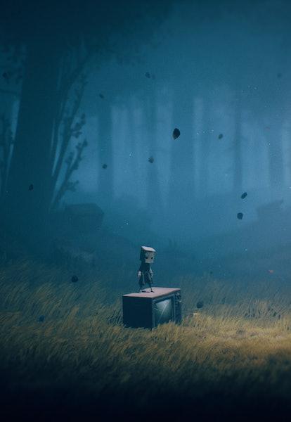 screenshot from Little Nightmares 2 Nintendo Switch horror game