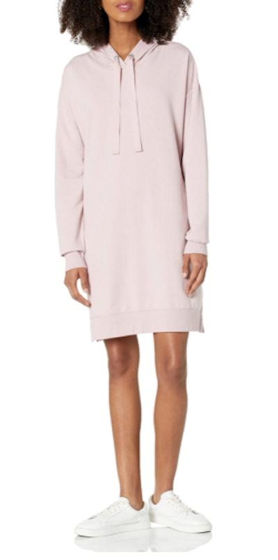 The Drop Iona Hooded Mini Sweatshirt Dress
