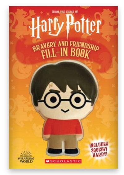 Cover art for 'Harry Potter: Squishy: Bravery and Friendship'