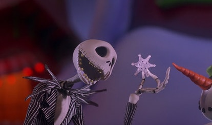 Jack Skellington from The Nightmare Before Christmas.