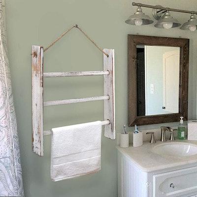 CuffUp Ladder Hand Towel Rack