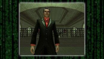 The Merovingian in The Matrix Online.