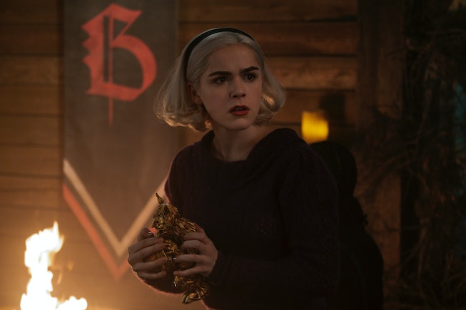 Kiernan Shipka will reprise her character of Sabrina Spellman for one 'Riverdale' episode.