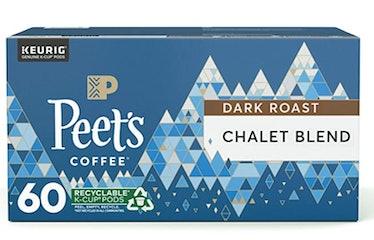 Peet's Coffee Chalet Blend Dark Roast Coffee K-Cup Pods