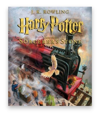 Product image for ' Harry Potter and the Sorcerer's Stone: The Illustrated Edition'