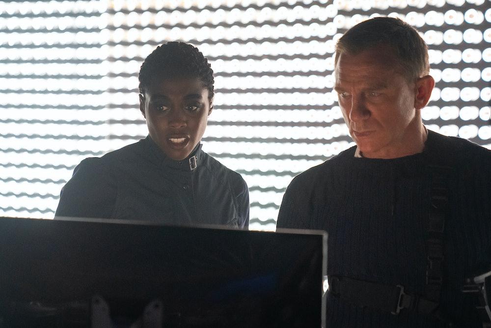 James Bond Daniel Craig Lashana Lynch
