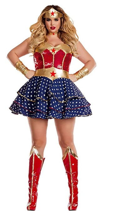 Party King Women's Wonderful Sweetheart Plus Size Costume